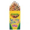 สีไม้ ทรงเหลี่ยม ขนาดใหญ่พิเศษ Crayola Write Start Colored Pencils 8 ct.