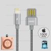 สายชาร์จ REMAX Iphone5/6/7 RC-080i สีเงิน