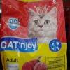 แค็ทเอ็นจอย แมวโต รสไก่และทูน่า 1.2kg หกถุง760รวมส่ง