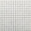 HHMA-10 Polished WhiteVenus หินไวท์วีนัส ขนาดหินภายใน 2.3x2.3 ซม - ขนาดชิ้นงาน 30x30 ซม