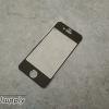ฟิล์มกระจก iPhone4/4s ไททาเทียม สีดำ