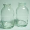 ขวดแก้วฝาปิดพลาสติกกันน้ำหก ขนาด 30 cc หนา
