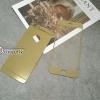 ฟิล์มกระจก iPhone 6/6s 2in1 สีทอง