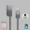 สายชาร์จ REMAX i5/i5s/i6/i6s/i7 (RC-088i) สีเทา