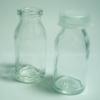 ขวดแก้วฝาปิดพลาสติกกันน้ำหก ขนาด 15 cc หนา