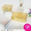 กล่อง สีทอง สีเงิน เคลือบเงา ขนาด 6.5x9.5x3.0 ซม. (บรรจุแพ็คละ 50 กล่อง)