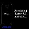 เคส Zenfone2 Laser 5.0 ซิลิโคน สีใส