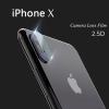 ฟิล์มกระจก ติดเลนส์กล้อง iPhone X