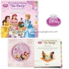 หนังสือภาษาอังกฤษ เจ้าหญิงพร้อมซีดี The Perfect Princess Tea Party Read-Along Storybook and CD