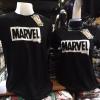 มาร์เวล สีดำ (Marvel black white logo CODE:0344)