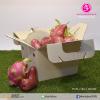 กล่องทรงหูหิ้ว ขนาด 19.0 x 22.0 x 16.0 ซม. (ปริมาตรบรรจุ) (บรรจุ 25 กล่องต่อแพ็ค)