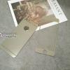 ฟิล์มกระจก iPhone6/6s 2in1 สีเงิน