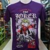 เสื้อ โจกเกอร์ สีม่วง ( BMH-The Joker Forever Evil purple CODE:1364)