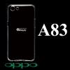 เคส OPPO A83 ซิลิโคน สีใส