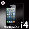 ฟิล์มกระจก iPhone4/4s (Blue Light Cut) ฟิล์มถนอมสาย