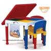 โต๊ะเลโก้ ทรงเหลี่ยม Tot Tutors 2-in-1 Construction Table Set