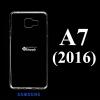 เคส Samsung A7(2016) ซิลิโคน สีใส