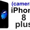(7-0035) ฟิล์มกระจก ติดเลนส์กล้อง iPhone 8 plus