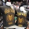 ไอรอน แมน สีเทา (Ironman Gray logo gold)