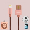 สายชาร์จ REMAX Iphone5/6/7 RC-080i สีโรสโกล์ด