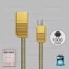สายชาร์จ Micro USB (RC-088m) REMAX สีทอง