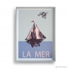 Reproduction Vintage Poster - LA MER