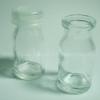 ขวดแก้วฝาปิดพลาสติก กันน้ำหก ขนาด 7 cc หนา