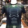 สตาร์วอร์ ผ้า premium SCUBA (Storm Trooper BLACK Green)