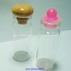 ขวดแก้ว ขนาด 12 cc 5.5*2 cm ราคาขายส่ง ฝาจุกไม้/พลาสติก