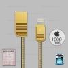 สายชาร์จ REMAX i5/i5s/i6/i6s/i7 (RC-088i) สีทอง