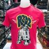 สตาร์วอร์ สีบานเย็น (Star Wars R2 D2 red pink CODE:1173)