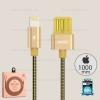 สายชาร์จ REMAX Iphone5/6/7 RC-080i สีทอง