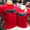 แบทแมน สีแดง ผ้าฝอก (Batman logo red)