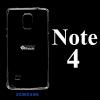 เคส Samsung Note4 ซิลิโคน สีใส