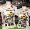 ซิมสัน สีขาว (Simpsons el Barto Bicycle)