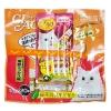 ครีมแมวเลีย ciao save pack ไก่ซีฟู้ด สองแพค540รวมส่ง