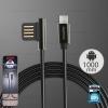 สายชาร์จ Micro USB (RC-054m) REMAX สีดำ