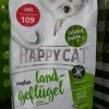 Happy cat sensitive glutenfree Land-Gefugel 300g. 159รวมส่ง