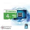 เมมโมรี่การ์ด Remax 4GB