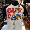 กันดั้ม สีขาว (Gundam logo arm black CODE:1188)