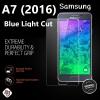 ฟิล์มกระจก Samsung A7 (2016) Blue Light Cut