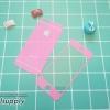 ฟิล์มกระจก iPhone5/5s/SE สีชมพู