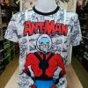 มาร์เวล ผ้า premium SCUBA (Ant-Man Comic white CODE:1386)