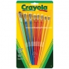 พู่กัน Crayola Arts & Crafts Brushes 8 ct.