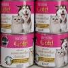 นมแพะสเตอริไลส์ สำหรับแมวและสุนัข แอคซายน์ โกลด์ กระป๋อง400ml หนึ่งโหล 784รวมส่ง