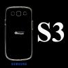 เคส Samsung S3 ซิลิโคน สีใส