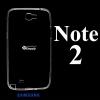 เคส Samsung Note2 ซิลิโคน สีใส