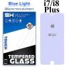 ฟิล์มกระจก iPhone7/8 Plus (Blue Light Cut) ฟิล์มถนอมสาย
