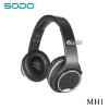 หูฟังอัจฉริยะ 2in1 เป็นลำโพงบลูทูธได้ SODO MH1 สีดำ