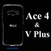 เคส Samsung Ace4/V Plus ซิลิโคน สีใส